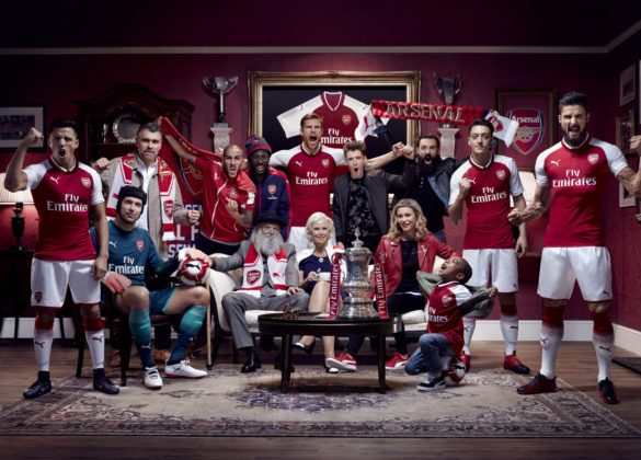 Puma / We are The Arsenal – Jon W. Johnson